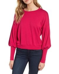Bailey 44 - Siberian Puff Sleeve Sweatshirt - Lyst