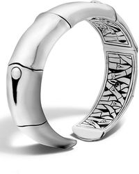 John Hardy - 'bamboo' Silver Wrist Cuff - Lyst