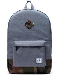 20689498748 Lyst - Herschel Supply Co. Heritage Backpack in Blue for Men