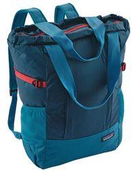 9cffc7df2df4 Lyst - Vera Bradley Backpack Tote in Green
