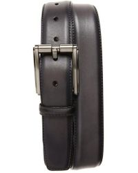 Magnanni Shoes | Butter Blade Leather Belt | Lyst