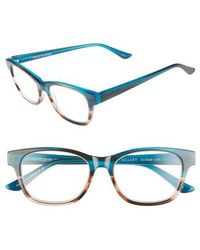Corinne Mccormack - Hillary 50mm Reading Glasses - Turquoise - Lyst