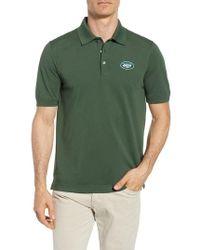 Cutter & Buck - New York Jets - Advantage Regular Fit Drytec Polo - Lyst