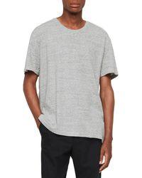 AllSaints - Falcon Cotton Crewneck T-shirt - Lyst