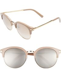 Vedi Vero - 56mm Round Sunglasses - - Lyst