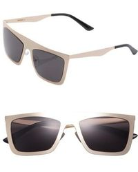 SUNNYSIDE LA - 54mm Square Sunglasses - - Lyst