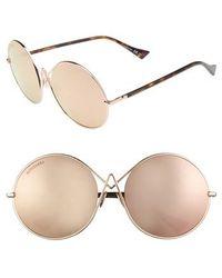 Altuzarra - 60mm Round Sunglasses - Lyst