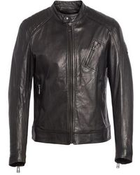Belstaff - V Racer Leather Jacket - Lyst