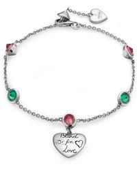 9db1c46ba9aed Lyst - Gucci Bracelet In Silver in Metallic