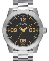 Nixon | Corporal Bracelet Watch | Lyst