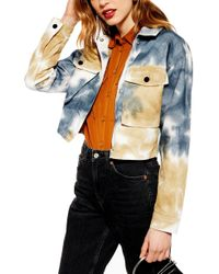 f6efcc694 Women's TOPSHOP Casual jackets Online Sale - Lyst