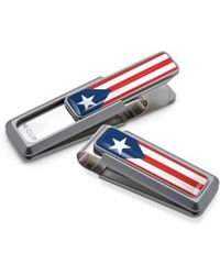 M-clip - M-clip Puerto Rican Flag Money Clip - Metallic - Lyst
