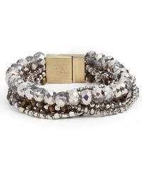 Serefina - Layered Statement Bracelet - Lyst