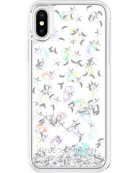 Rebecca Minkoff - Galaxy Icon Glitterfall Iphone X/xs Case - - Lyst