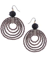 Nakamol - Concentric Circle Earrings - Lyst