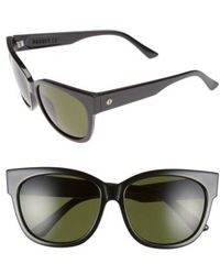 Electric - 'danger Cat' 58mm Retro Sunglasses - - Lyst
