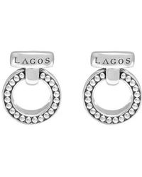 Lagos - 'enso' Caviar(tm) Clip Earrings - Lyst