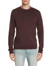 Norse Projects - Vagm Crewneck Cotton Sweatshirt - Lyst