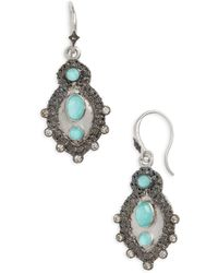 Armenta - New World Turquoise Doublet Drop Earrings - Lyst