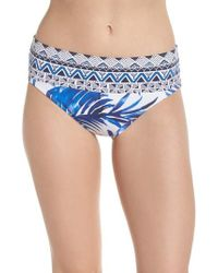 Tommy Bahama - Fuller Fronds High Waist Bikini Bottoms - Lyst