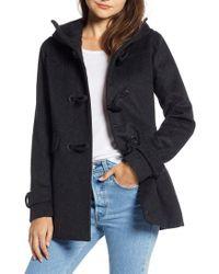 Pendleton - Roslyn Waterproof Lambswool Blend Hooded Coat - Lyst