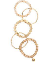Shashi - Pia 5-piece Bracelet Set - Lyst