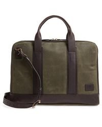 Frye - Carter Slim Briefcase - Lyst