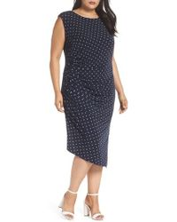 Vince Camuto - Romantic Dots Body-con Dress - Lyst