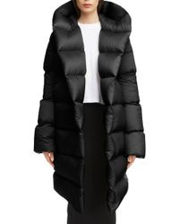 Rick Owens - Down Fill Puffer Coat - Lyst