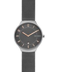 Skagen - Grenen Mesh Strap Watch - Lyst