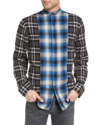 The Rail | Multi Plaid Woven Shirt | Lyst