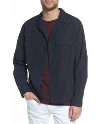 Vince - Regular Fit Shirt Jacket - Lyst