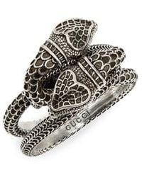 Gucci - Snake Ring - Lyst