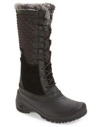 The North Face - Shellista Iii Tall Waterproof Insulated Winter Boot - Lyst