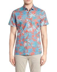 Tori Richard - Pick A Palm Trim Fit Camp Shirt - Lyst
