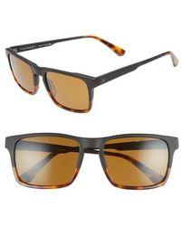 Vuarnet - Large District 54mm Sunglasses - Matt Black / Tortoise - Lyst