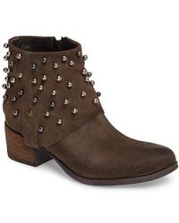 Sheridan Mia - Metallic Beaded Bootie - Lyst