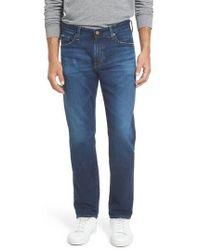 AG Jeans - Graduate Slim Straight Leg Jeans - Lyst