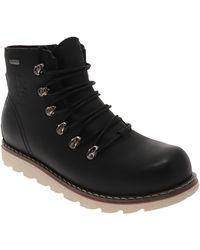 Royal Canadian Argyle Waterproof Wool Lined Boot - Black