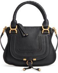 Chloé - Marcie Small Double Carry Bag - - Lyst