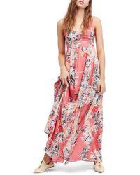 Free People - Through The Vine Maxi Dress - Lyst