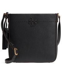 Tory Burch - Mcgraw Leather Crossbody Tote - Lyst