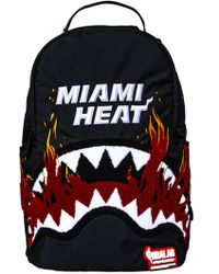 Sprayground - Miami Heat Shark Teeth Backpack - Lyst
