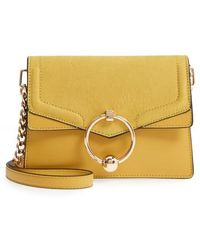 TOPSHOP - Seline Faux Leather Crossbody Bag - - Lyst