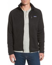 Patagonia - 'better Sweater' Zip Front Jacket - Lyst