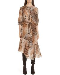Lafayette 148 New York - Delancy Silk Dress - Lyst