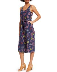 ModCloth - Elated All Over Cropped Jumpsuit - Lyst