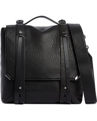 AllSaints - Vincent Leather Backpack - - Lyst