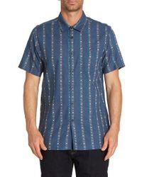 Billabong - Sundays Jacquard Woven Shirt - Lyst