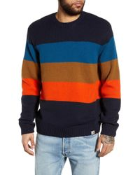 Carhartt WIP - Goldner Stripe Wool Sweater - Lyst